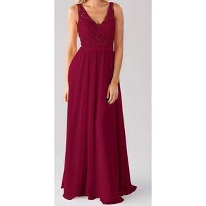 Kennedy blue Betsy dress in claret